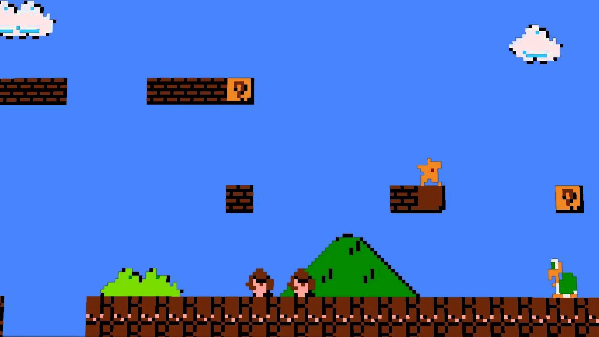 Pictures Of Pixel Mario