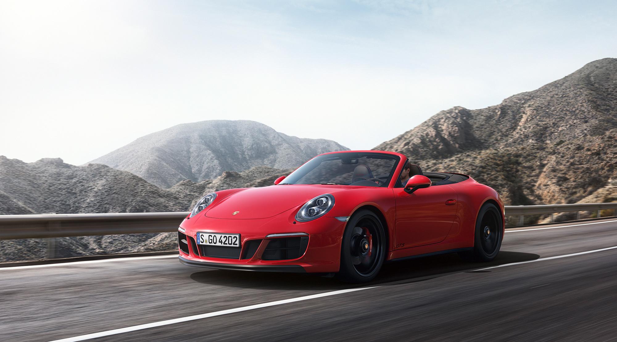 Pictures Of Porsche 911 Gts Cabriolet