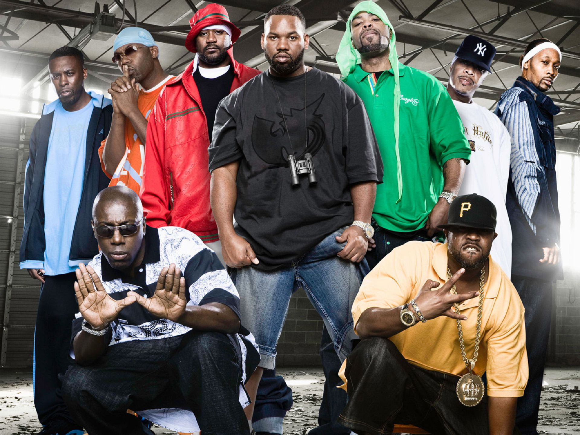 Pictures Of Wu Tang Clan