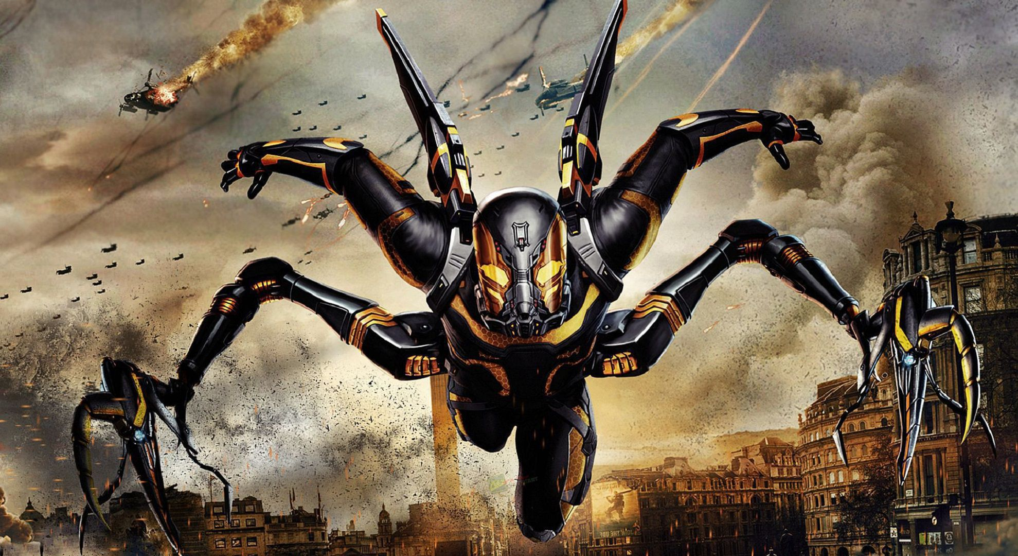 Pictures Of Yellow Jacket Marvel