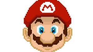 Pixel Mario Computer Wallpaper