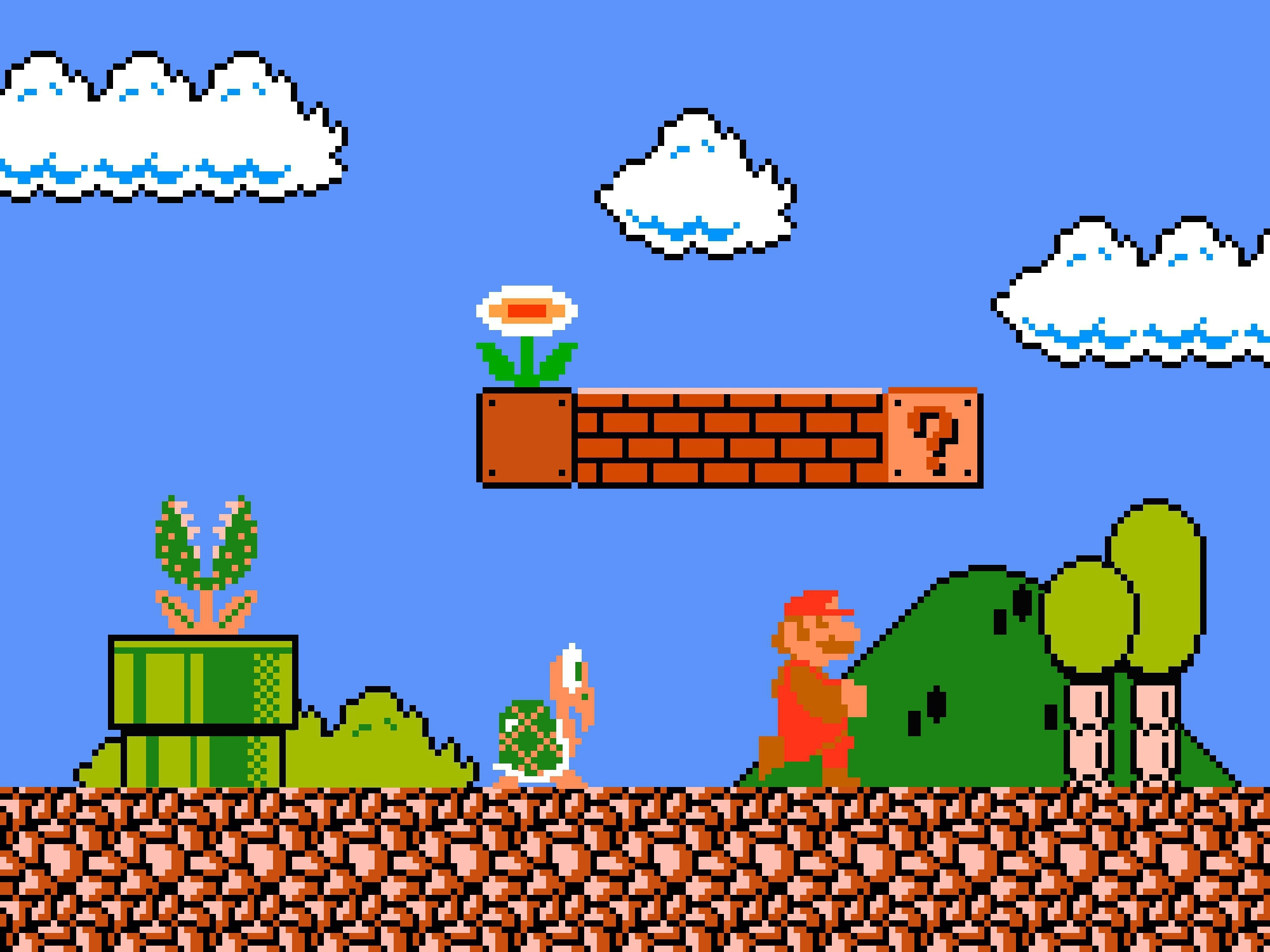 Pixel Mario High Quality Wallpapers