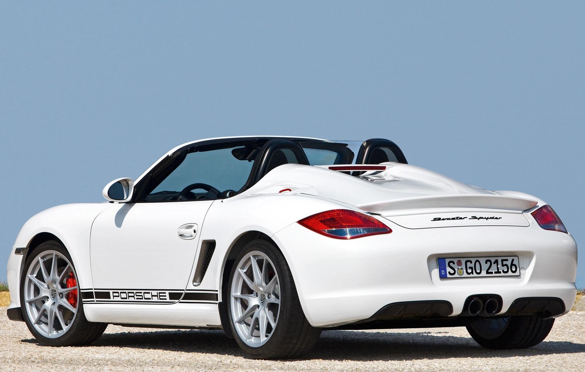 Porsche Boxster Spyder Hd Background
