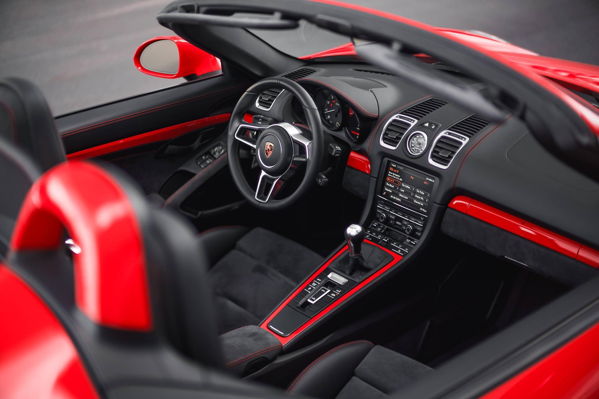 Porsche Boxster Spyder High Quality Wallpapers