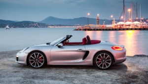 Porsche Boxster Spyder Photos
