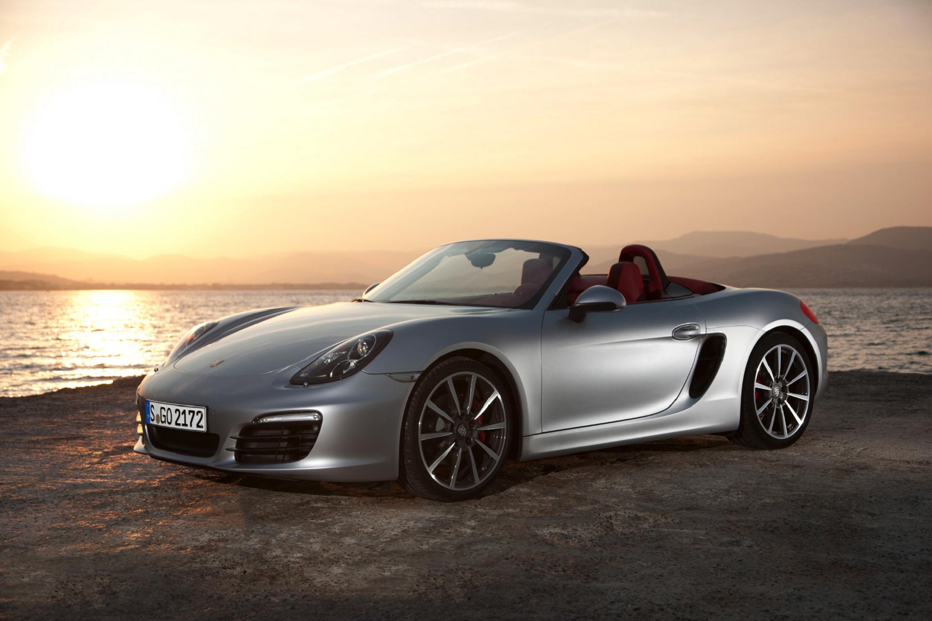 Porsche Boxster Spyder Pictures