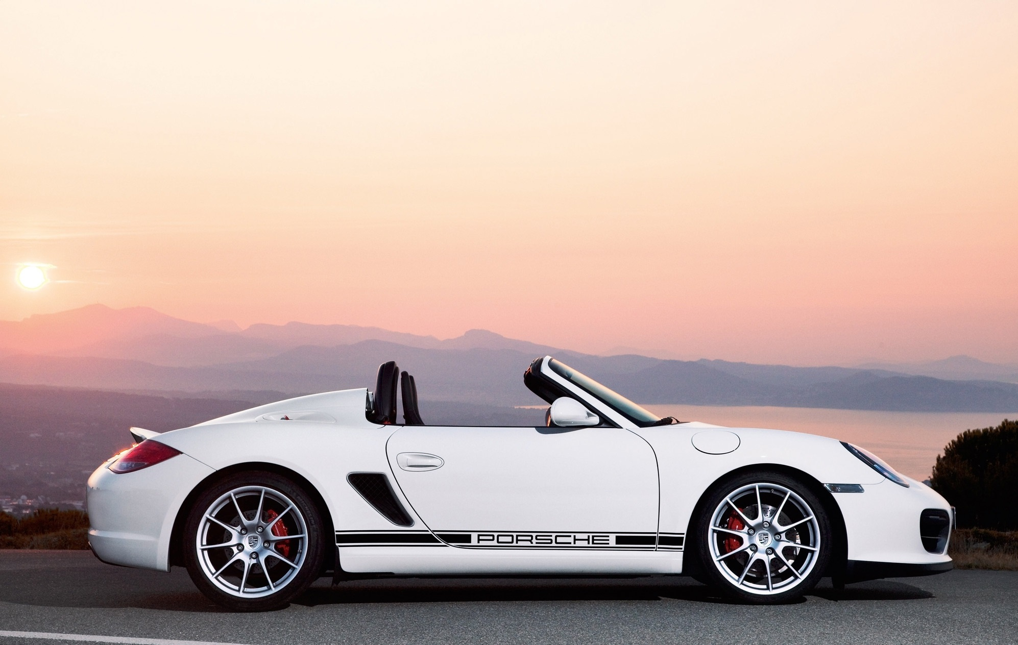 Porsche Boxster Spyder For Desktop