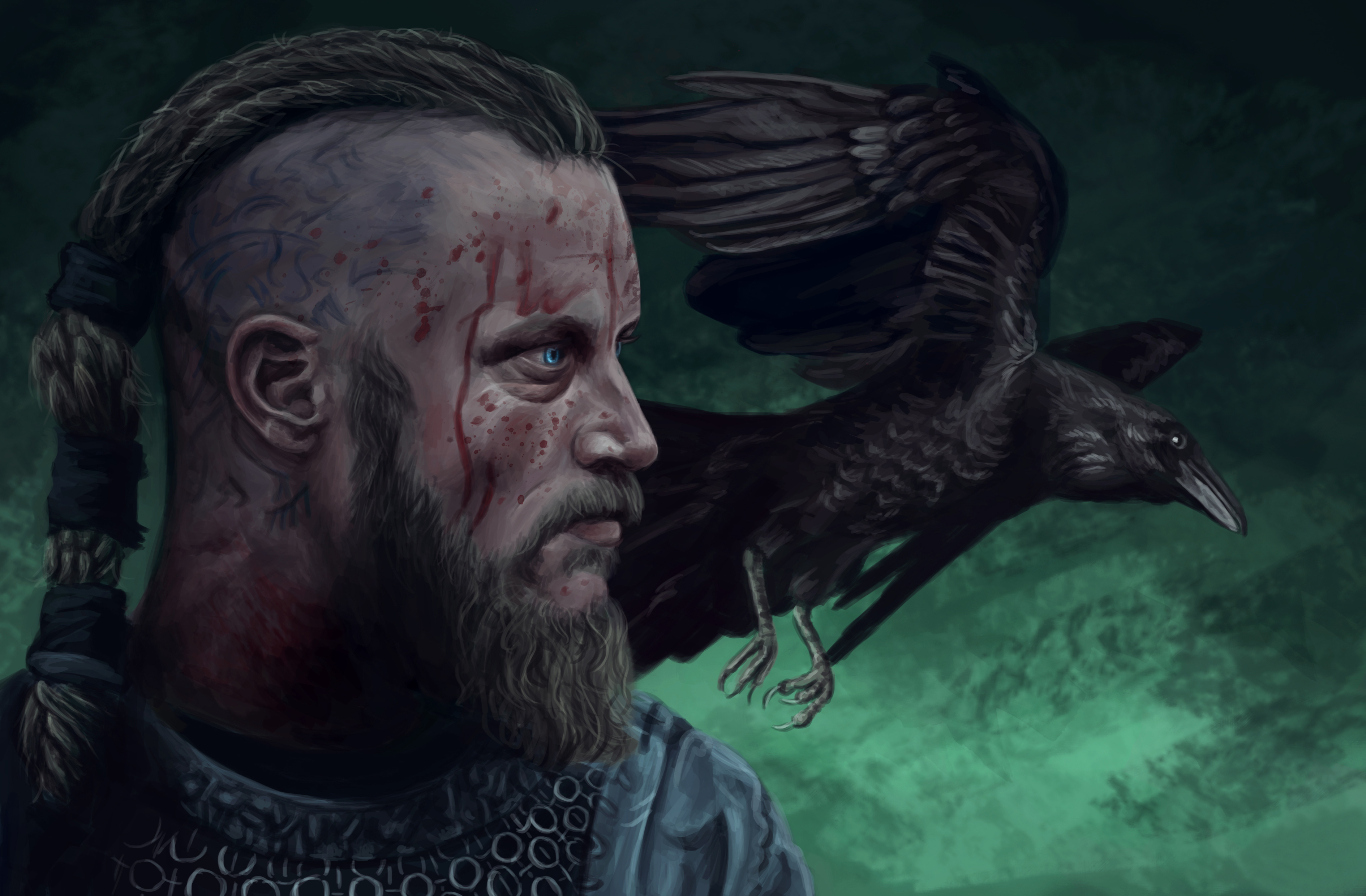 Ragnar Lothbrok Computer Wallpaper