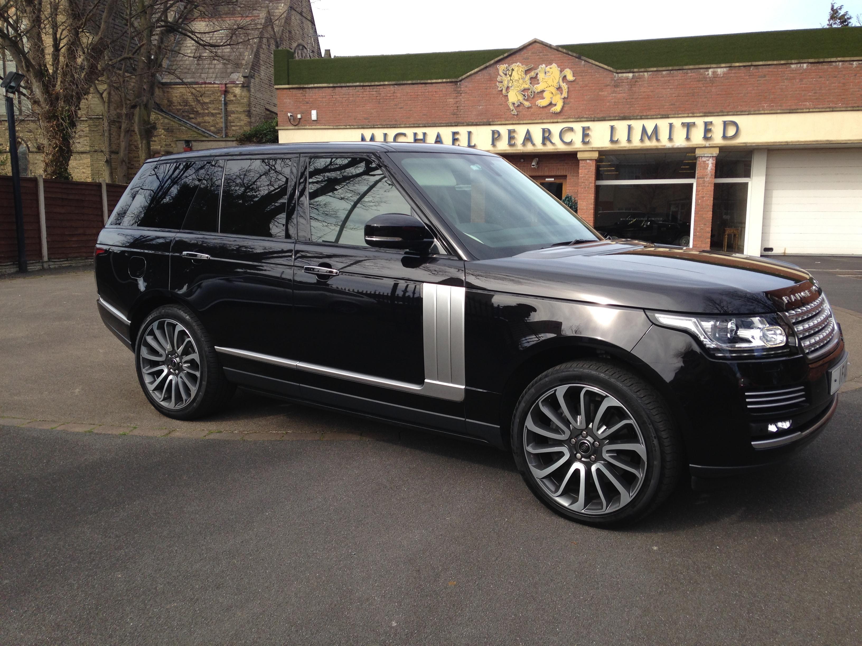 Range Rover 4k
