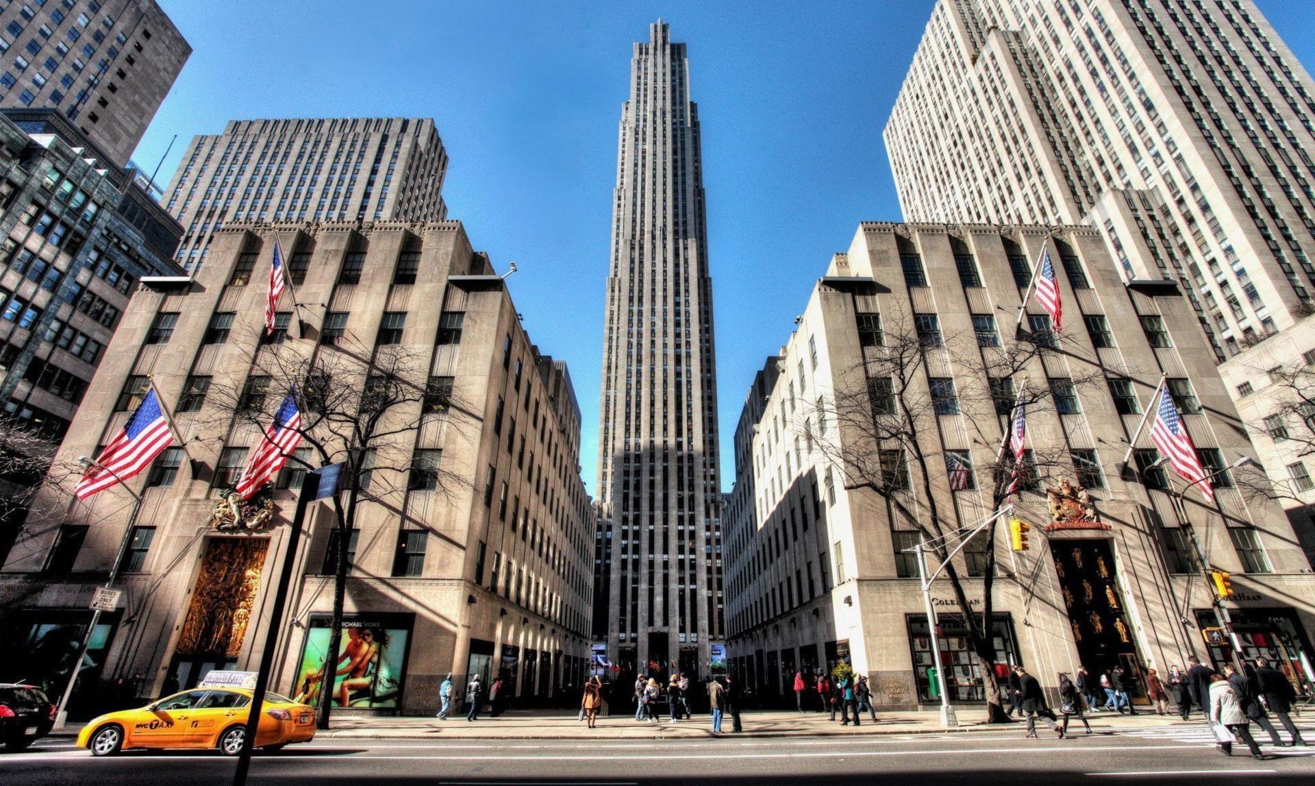 Rockefeller Center Background