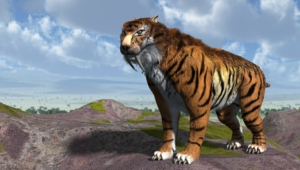 Sabre Toothed Tiger Wallpapers Hd