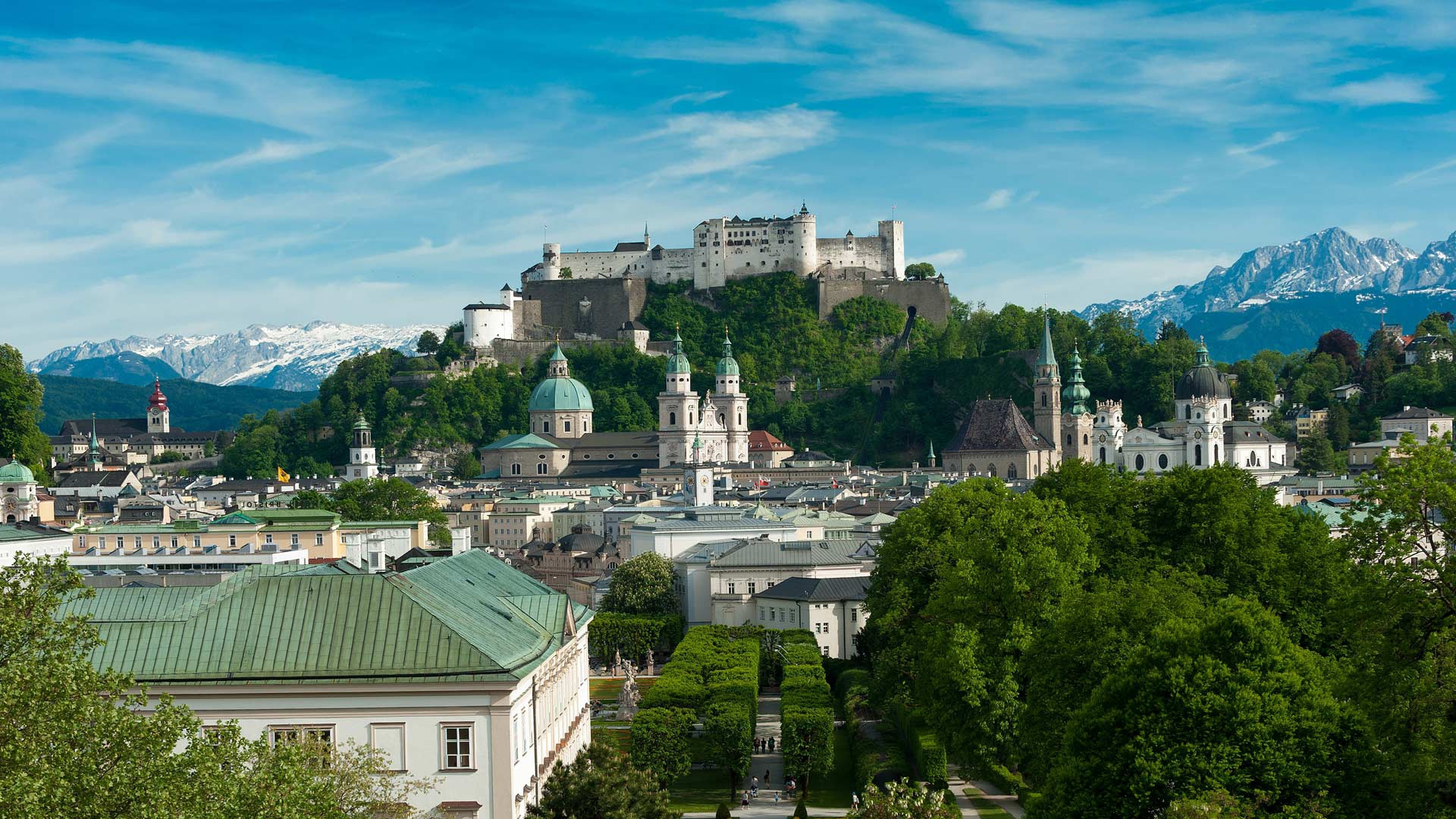 Salzburg Hd Background