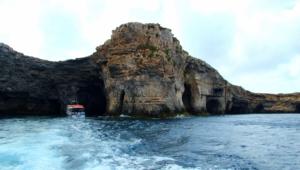 Sea Cave Malta 4k