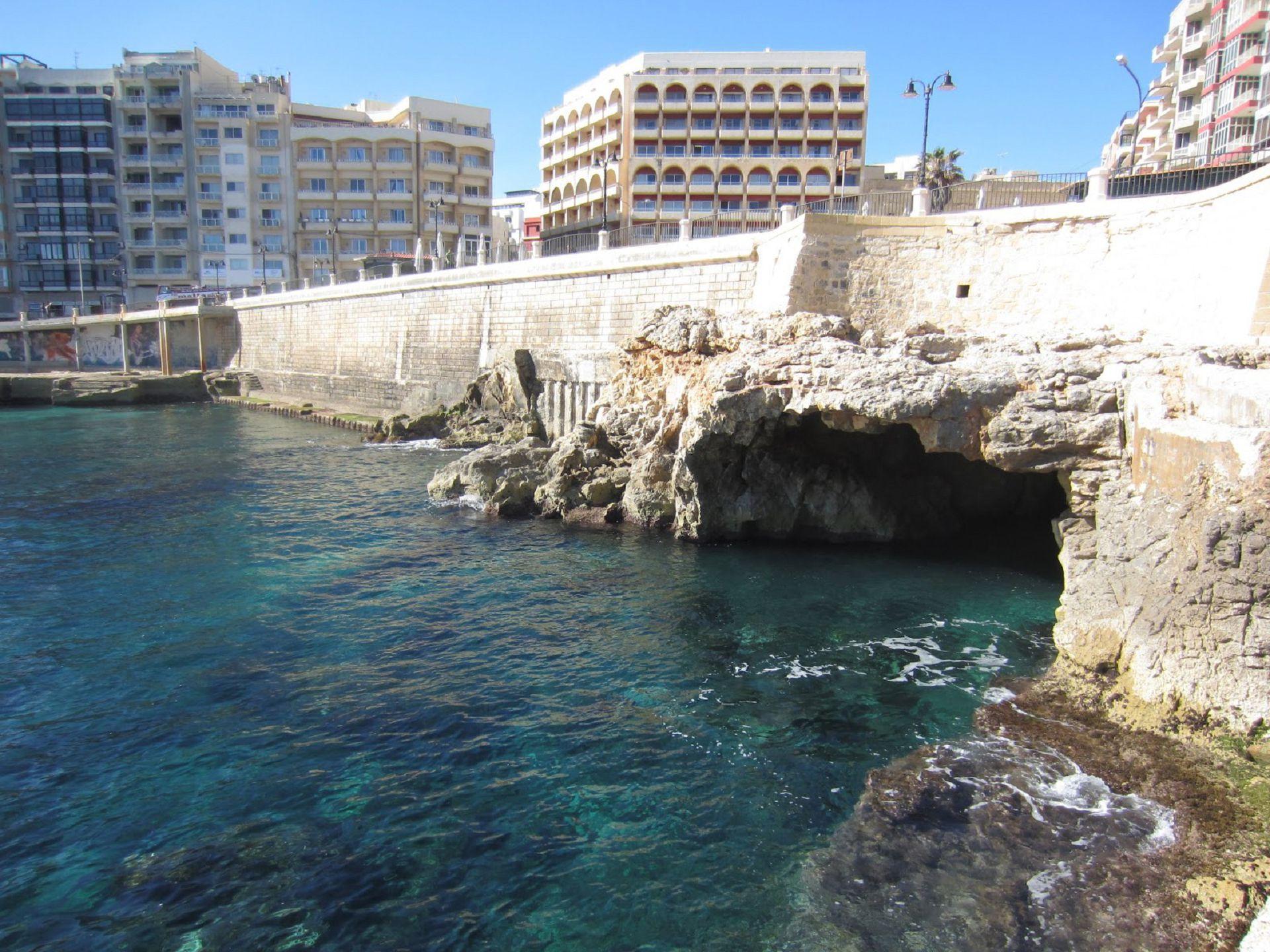 Sea Cave Malta Hd