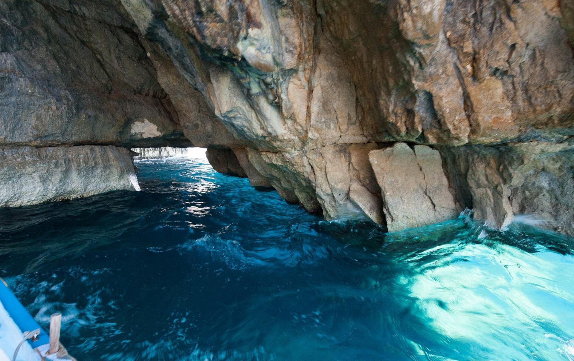 Sea Cave Malta Photos
