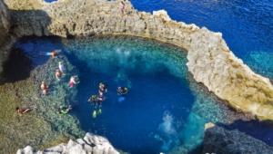 Sea Cave Malta Full Hd