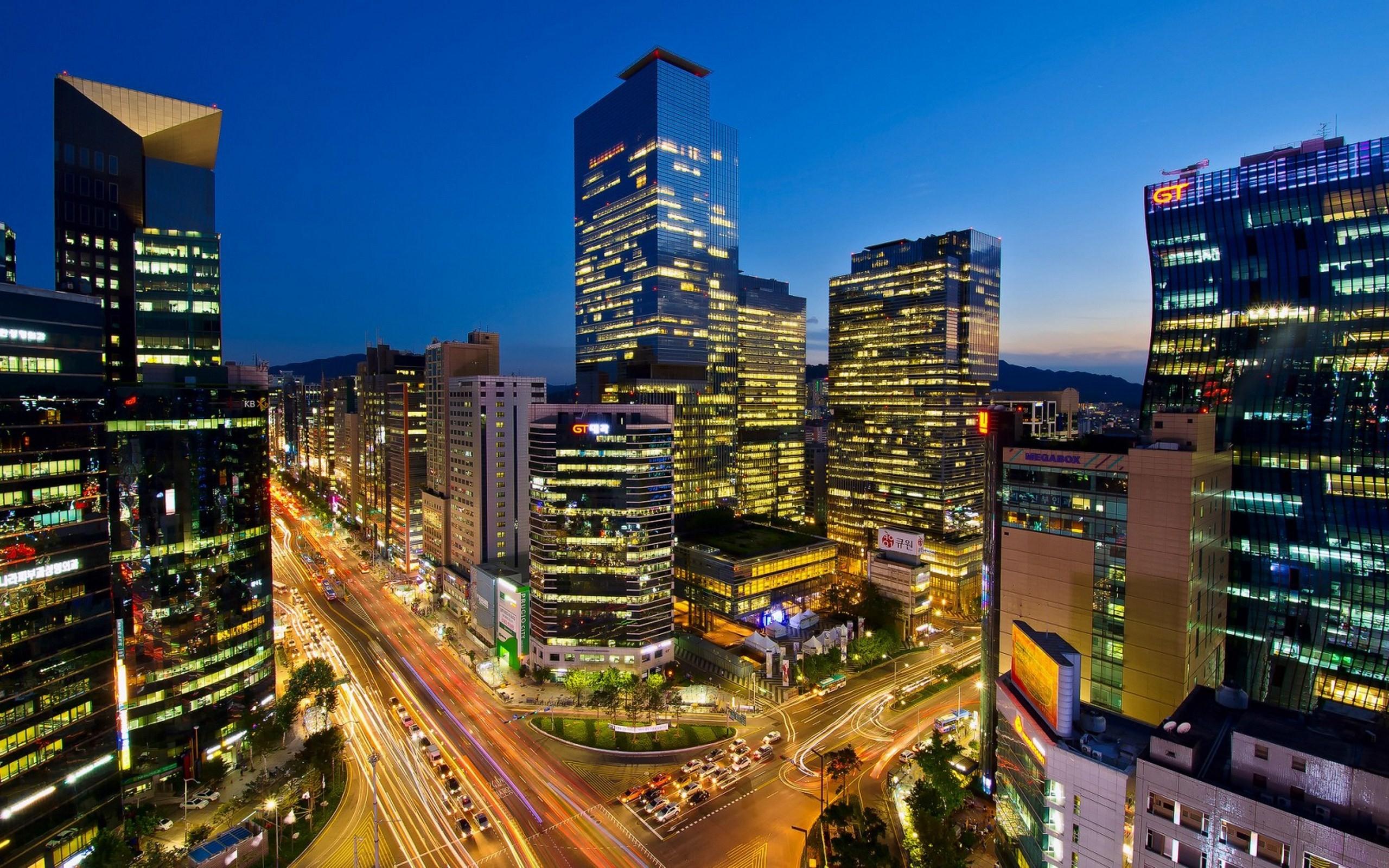 Seoul Hd Background