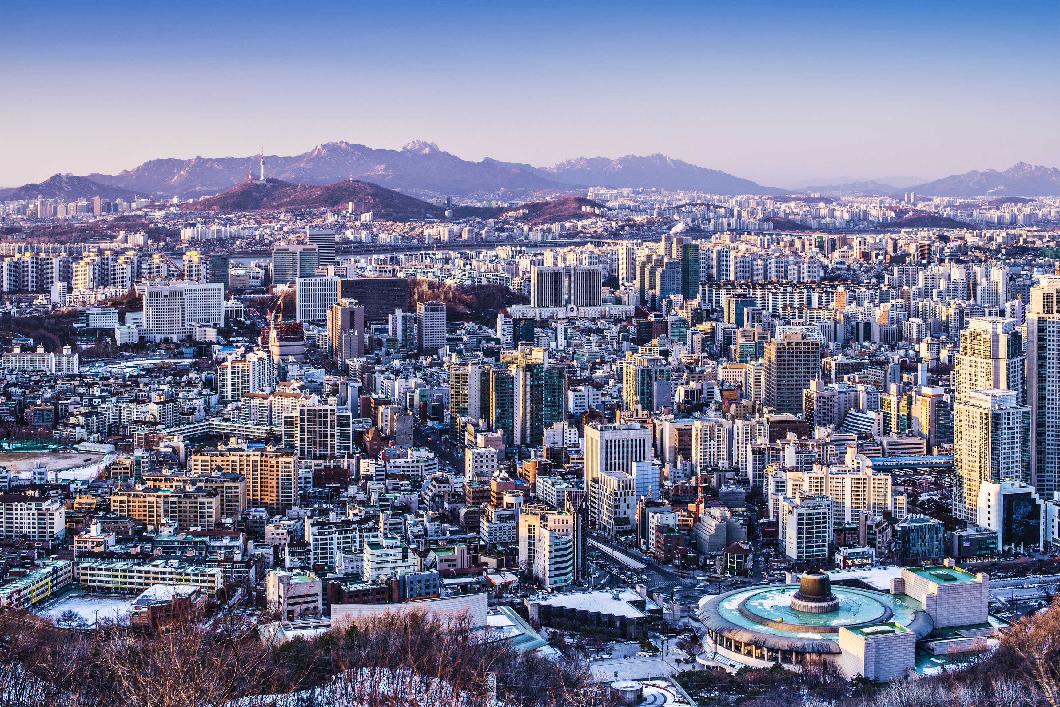 Seoul Hd Wallpaper