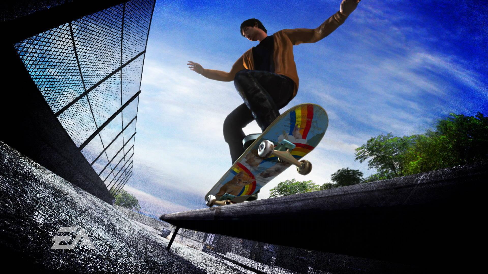 Skateboarding Computer Wallpaper