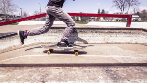 Skateboarding Hd Background