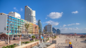 Tel Aviv Hd Background