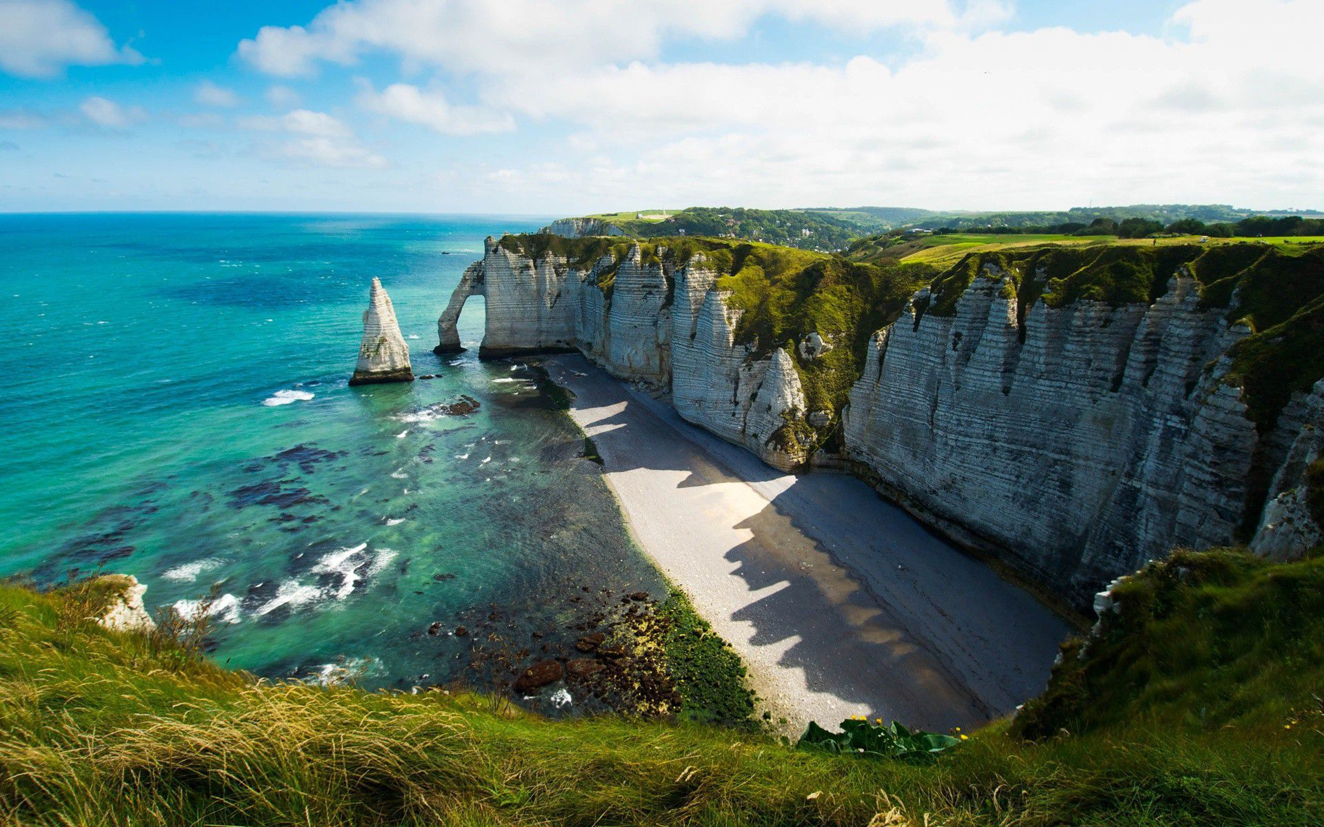 The Cliffs Of Etretat 4k