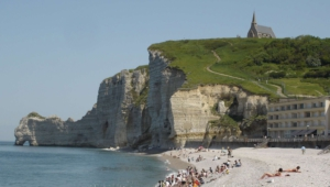 The Cliffs Of Etretat Desktop