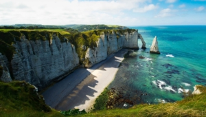 The Cliffs Of Etretat Hd