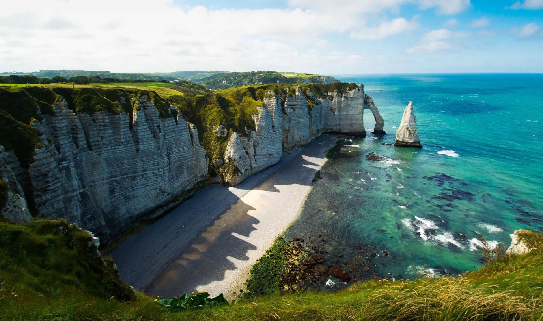 The Cliffs Of Etretat Hd