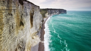 The Cliffs Of Etretat Wallpaper