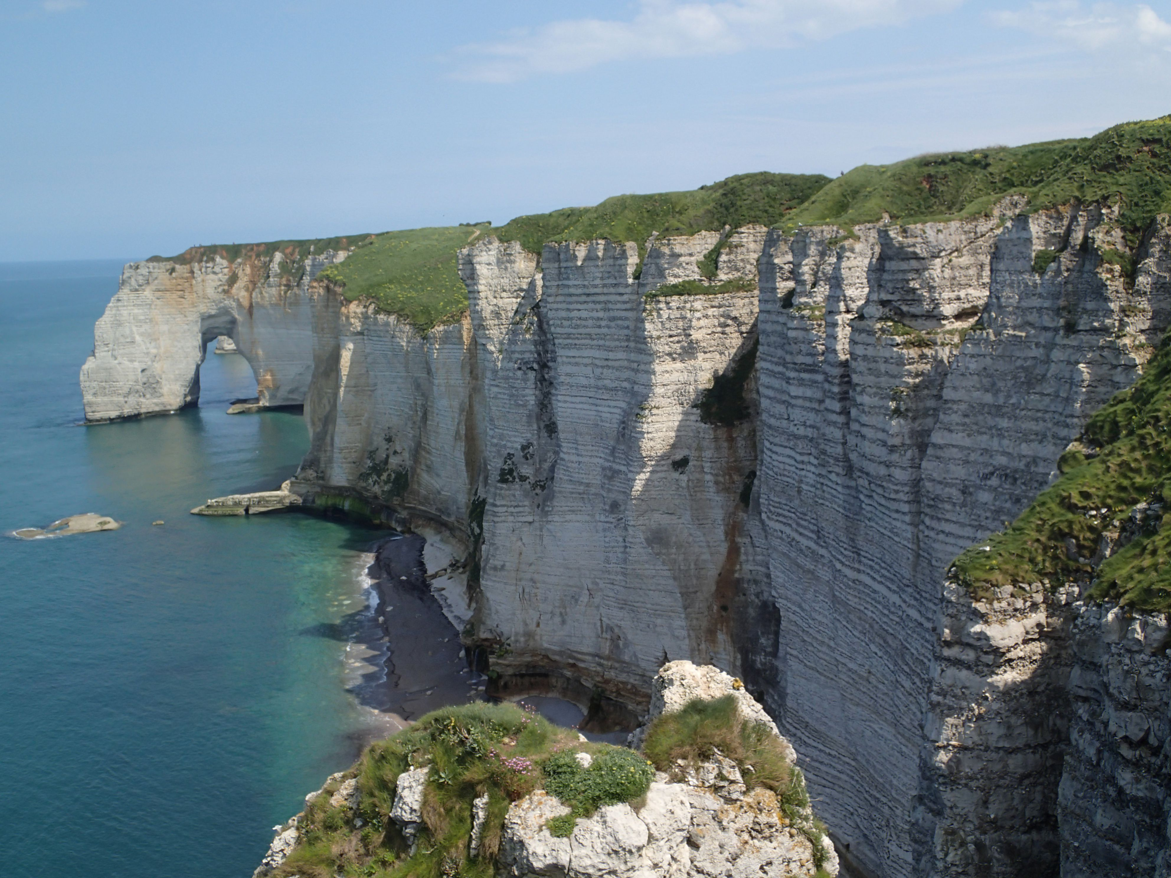 The Cliffs Of Etretat Wallpapers Hq