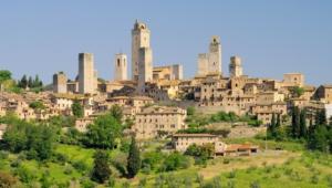 Tuscany Background