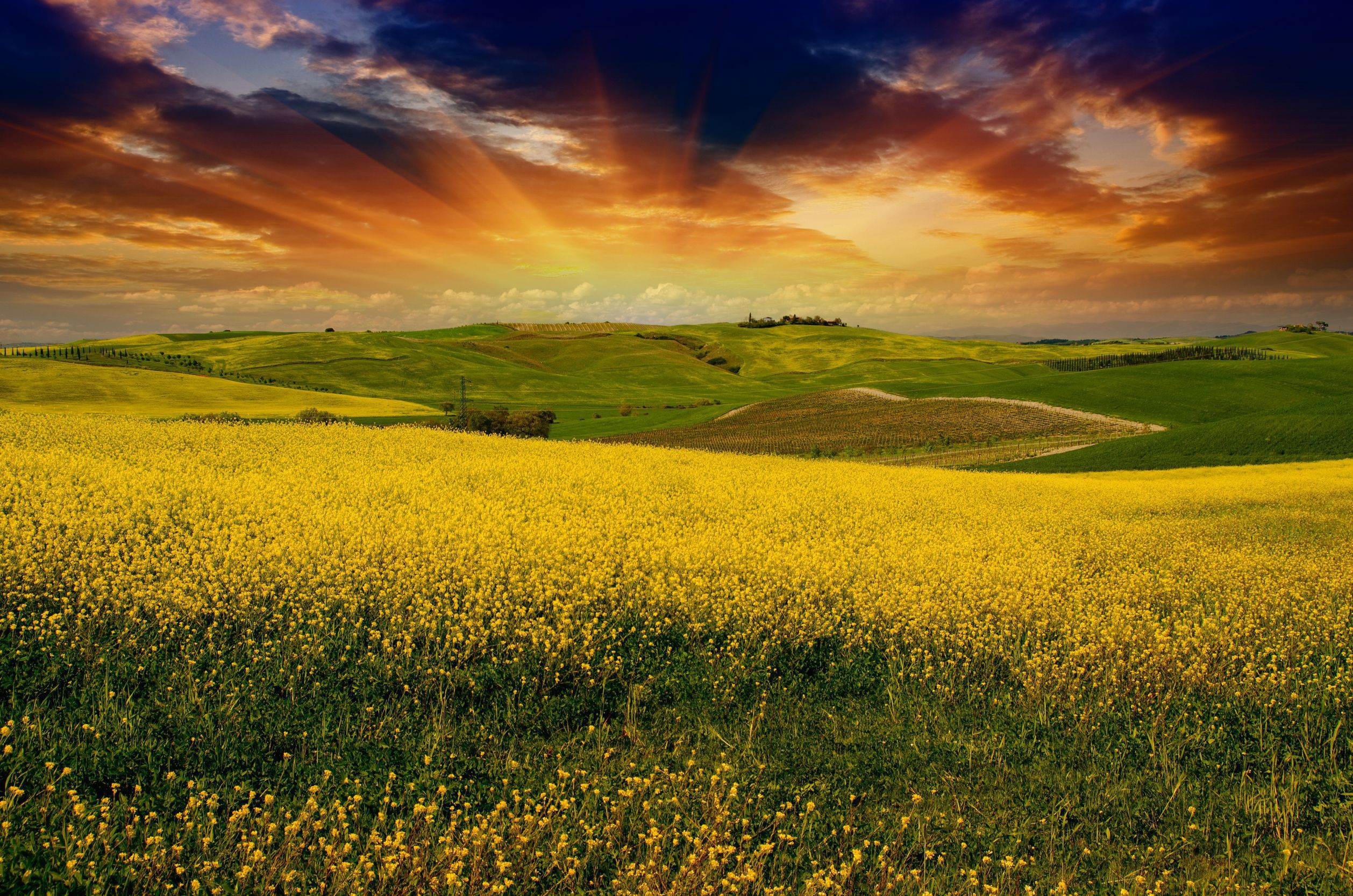 Tuscany Download Free Backgrounds Hd