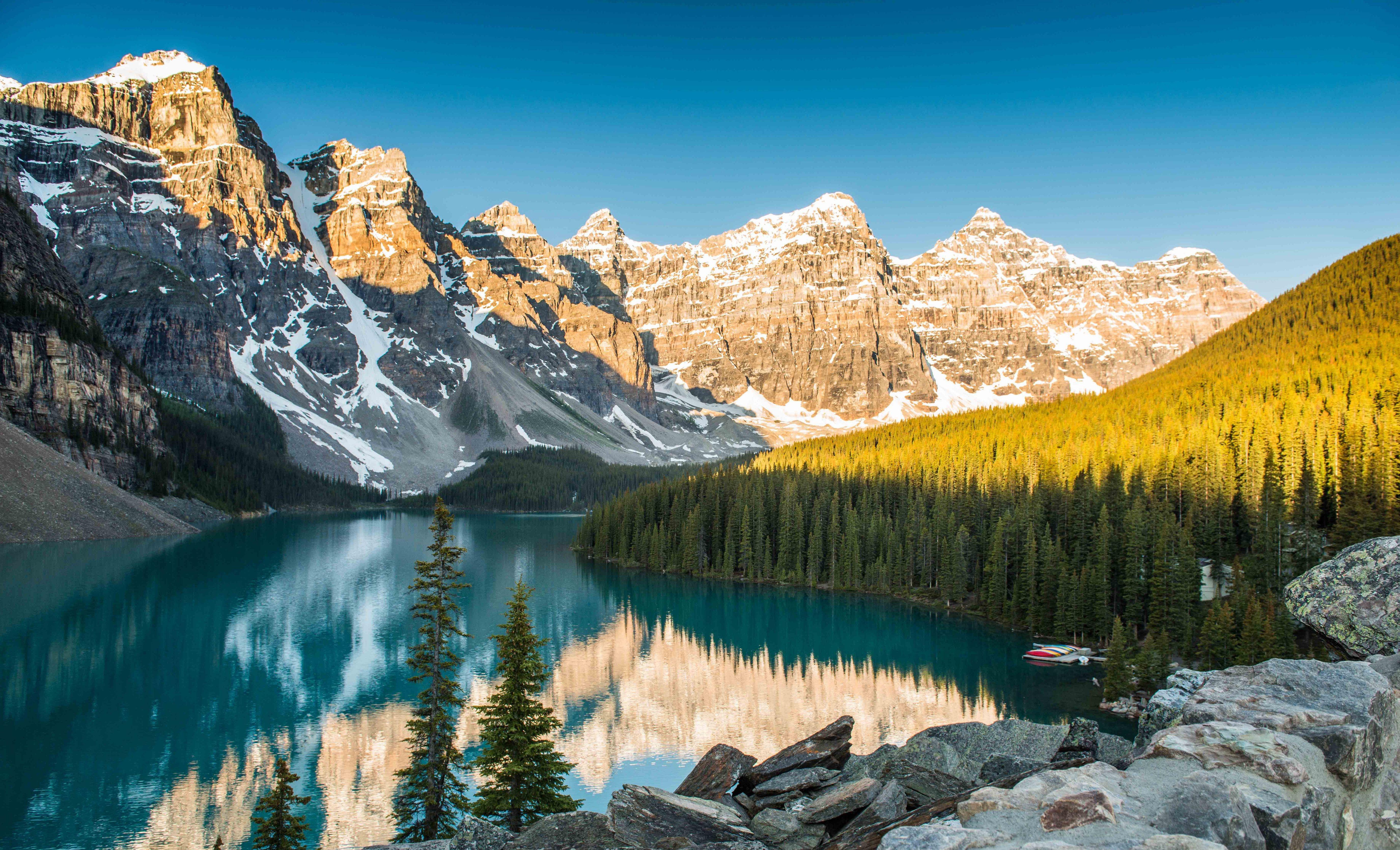 Valley Of Ten Peaks Photos