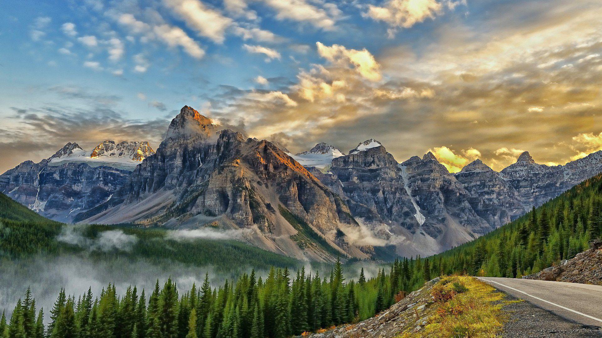 Valley Of Ten Peaks Wallpapers Hq