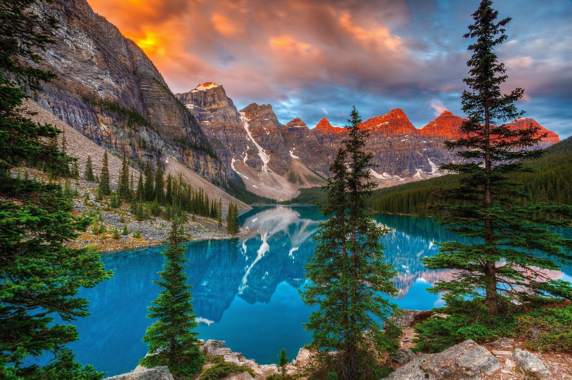 Valley Of Ten Peaks Widescreen