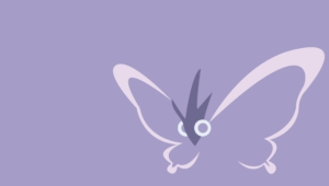 Venomoth Computer Wallpaper