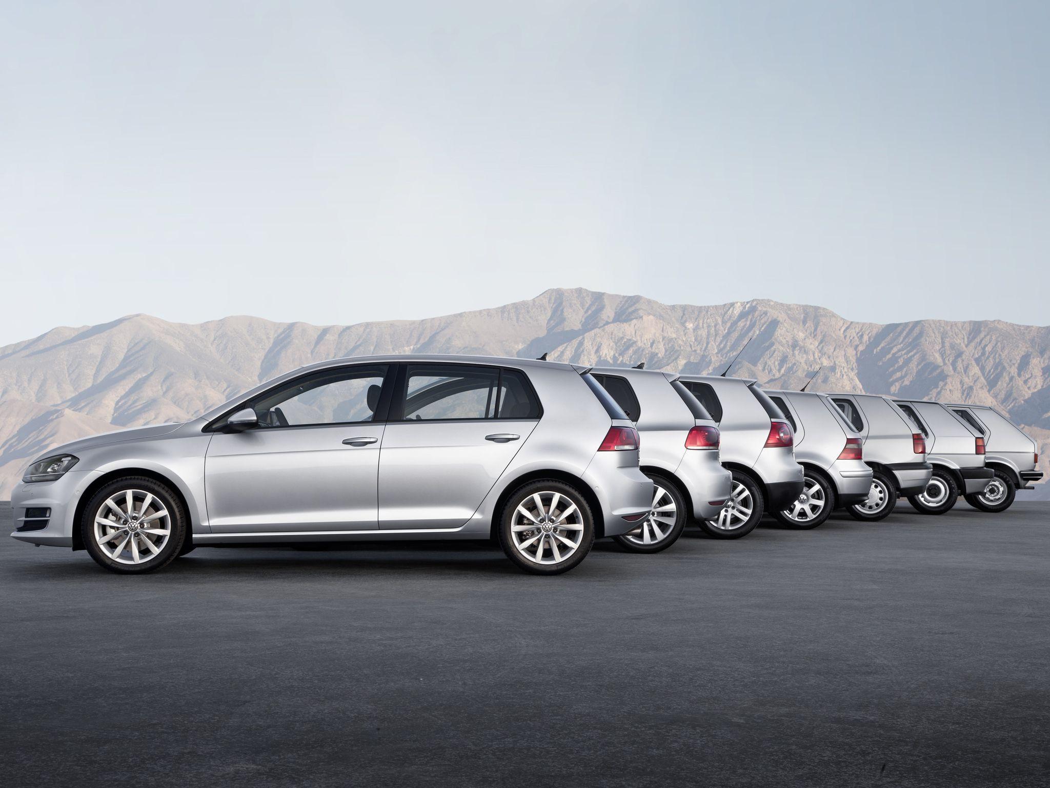Volkswagen Golf Hd Desktop