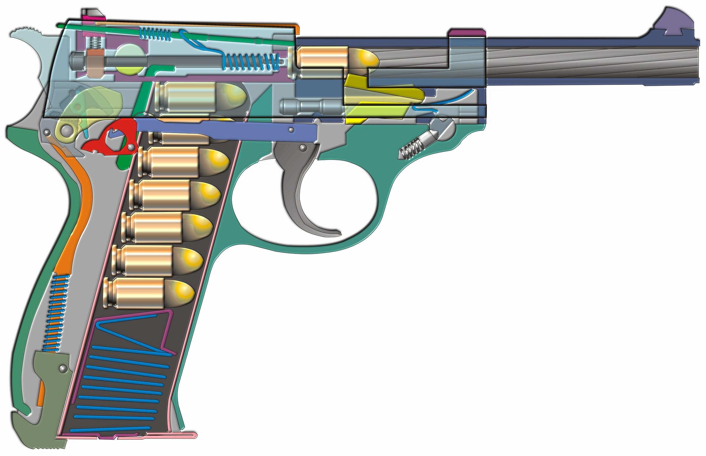 Walther P 38 Desktop Wallpaper