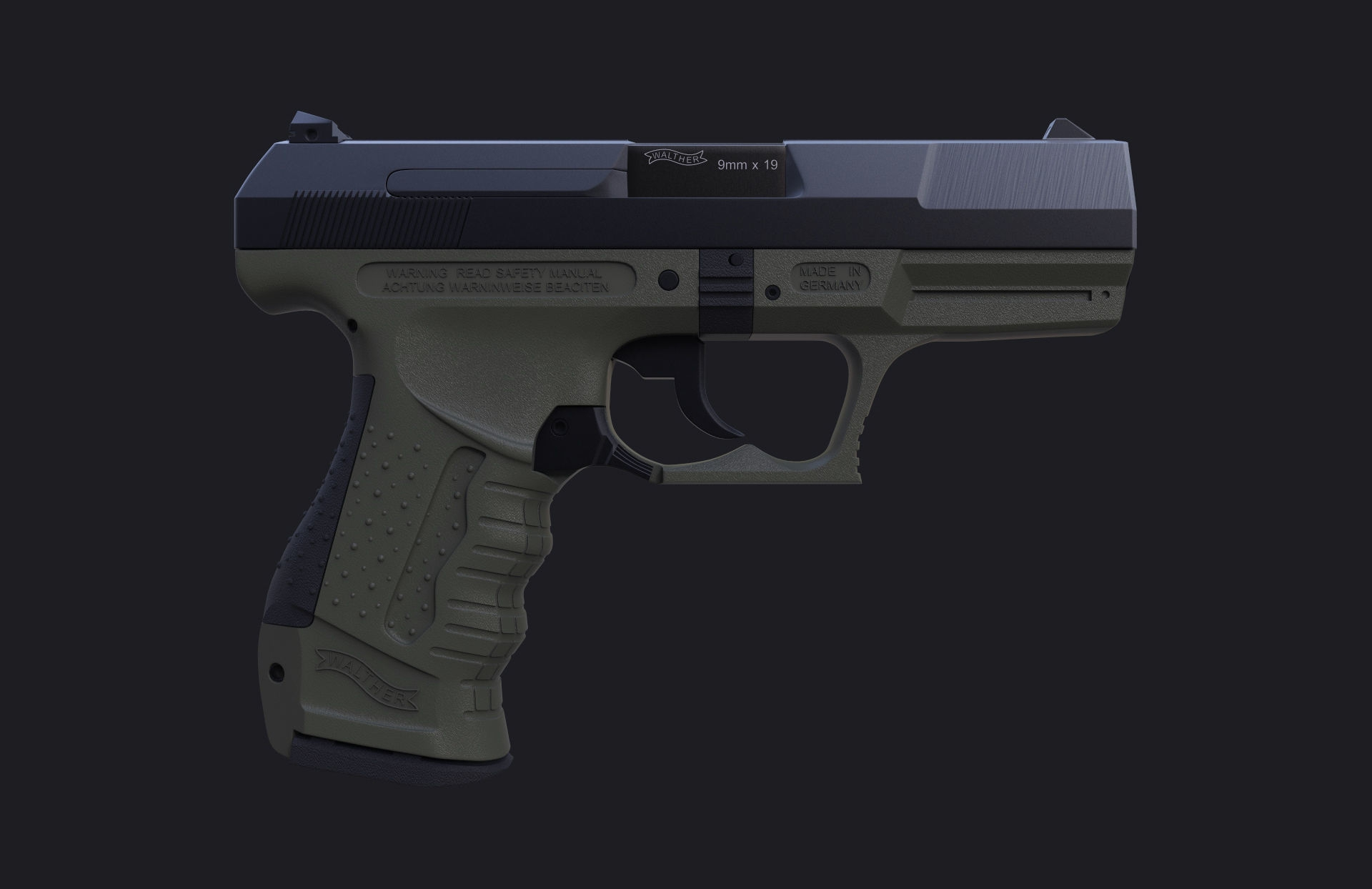 Walther P99 As 4k