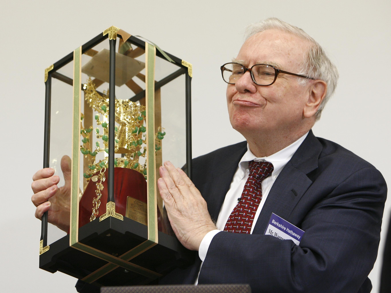Warren Buffett Computer Wallpaper