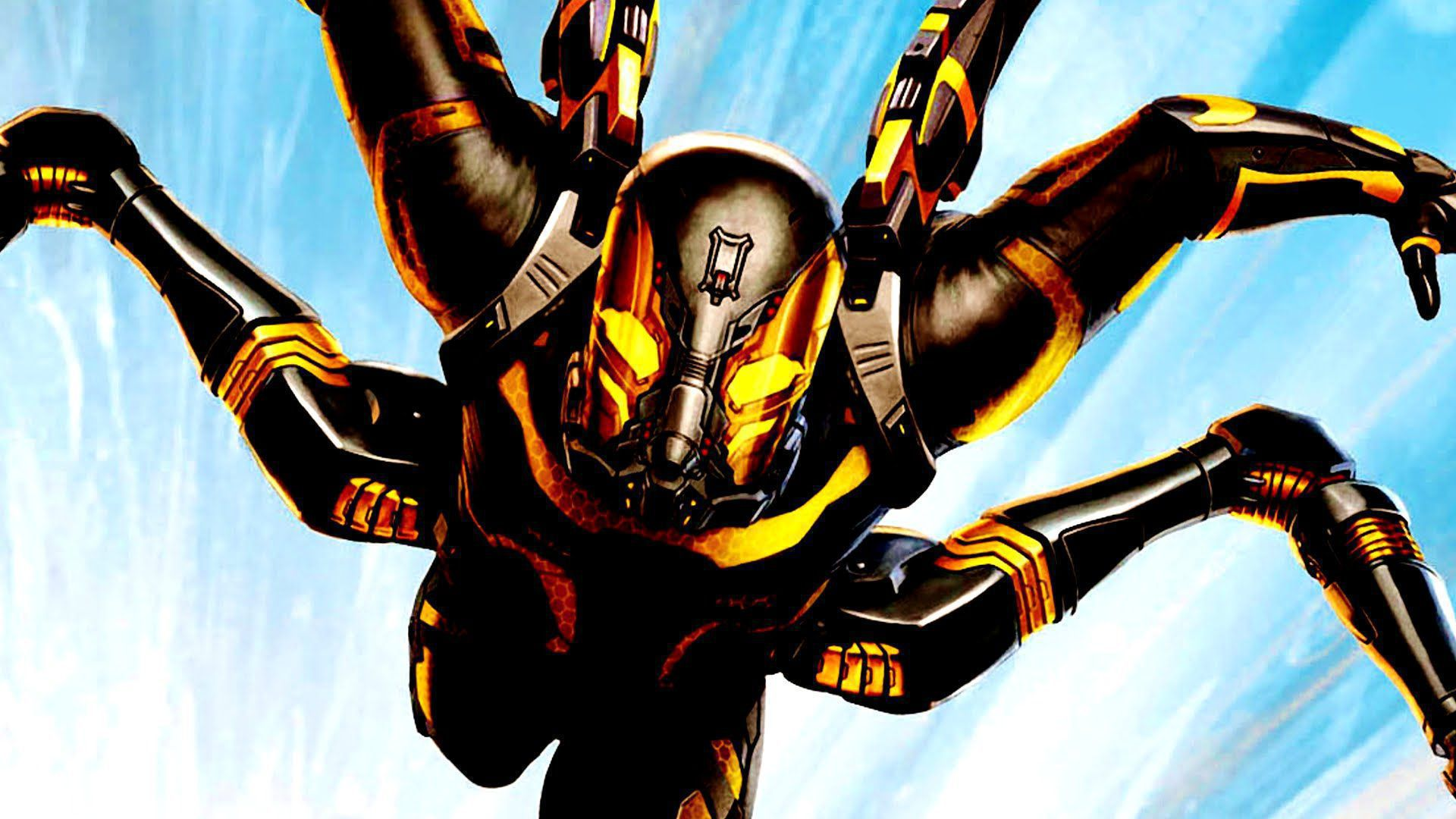 Yellow Jacket Marvel Photos