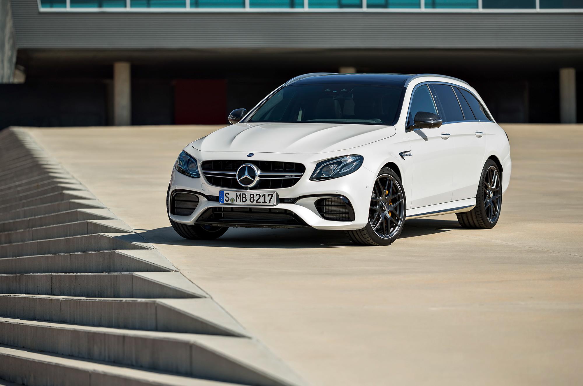 Mercedes AMG E 63 HD Background