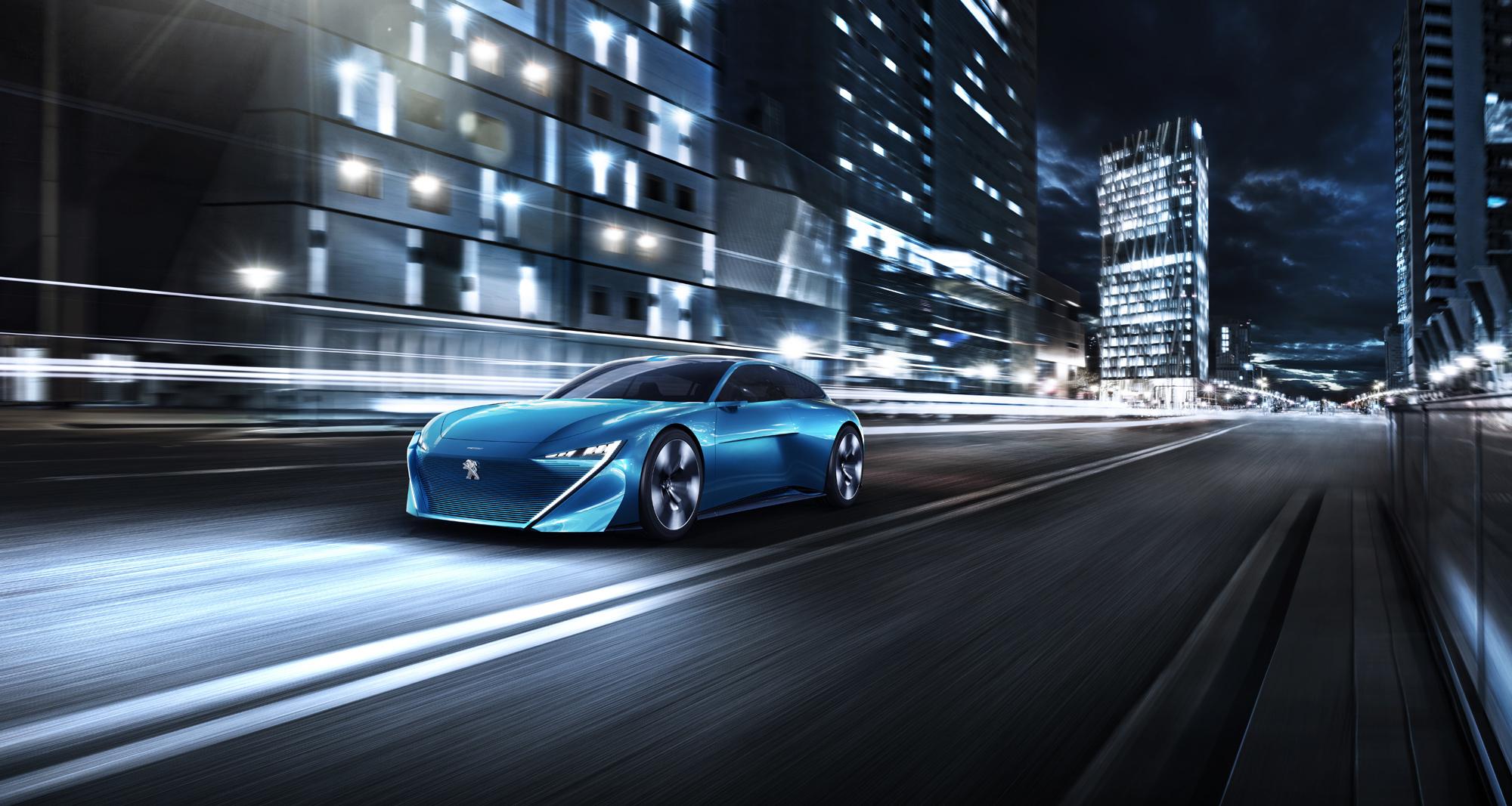 Peugeot Instinct Pictures