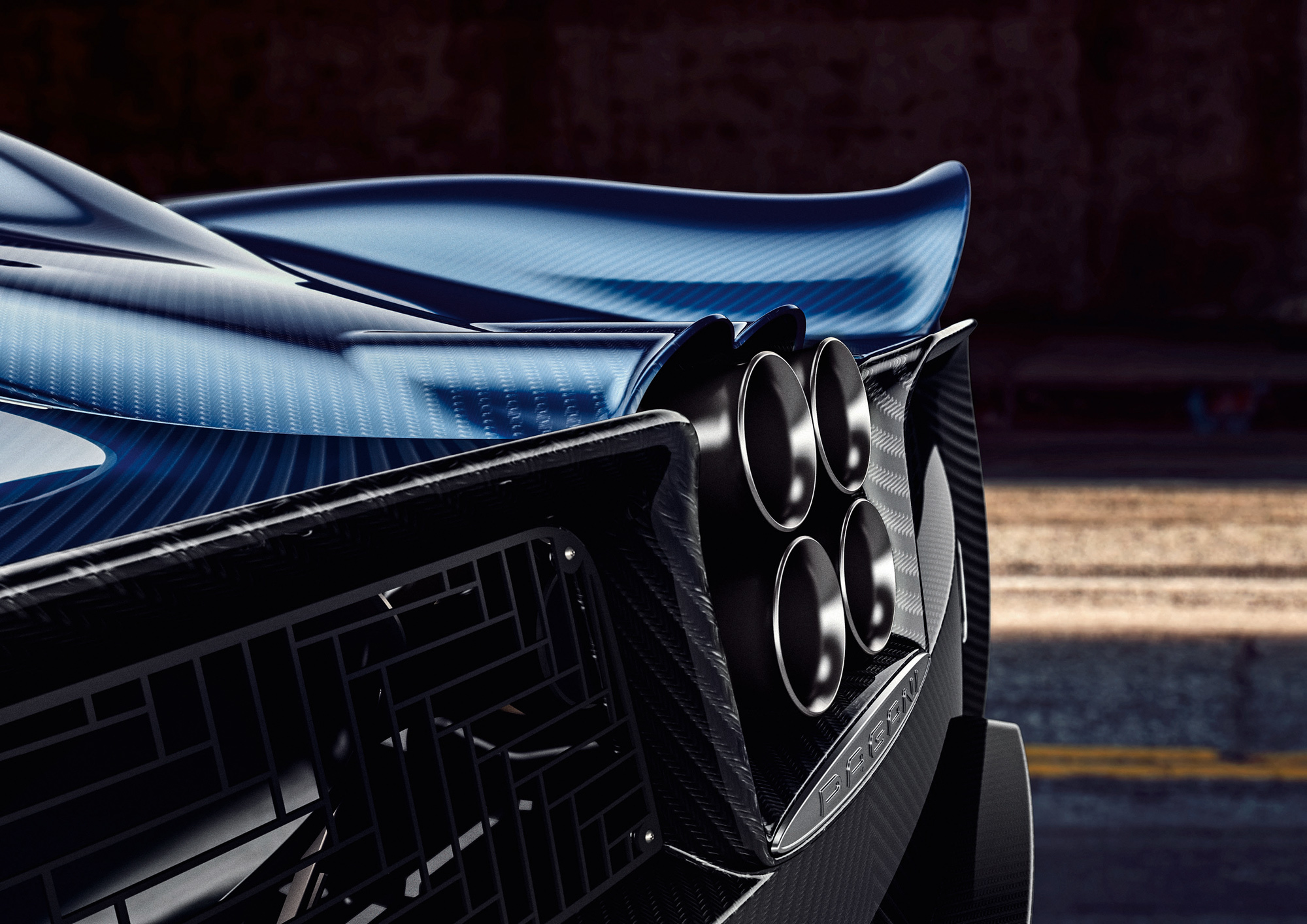Pictures Of Pagani Huayra Roadster