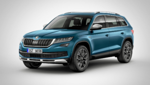 Skoda Kodiaq Scout Photos