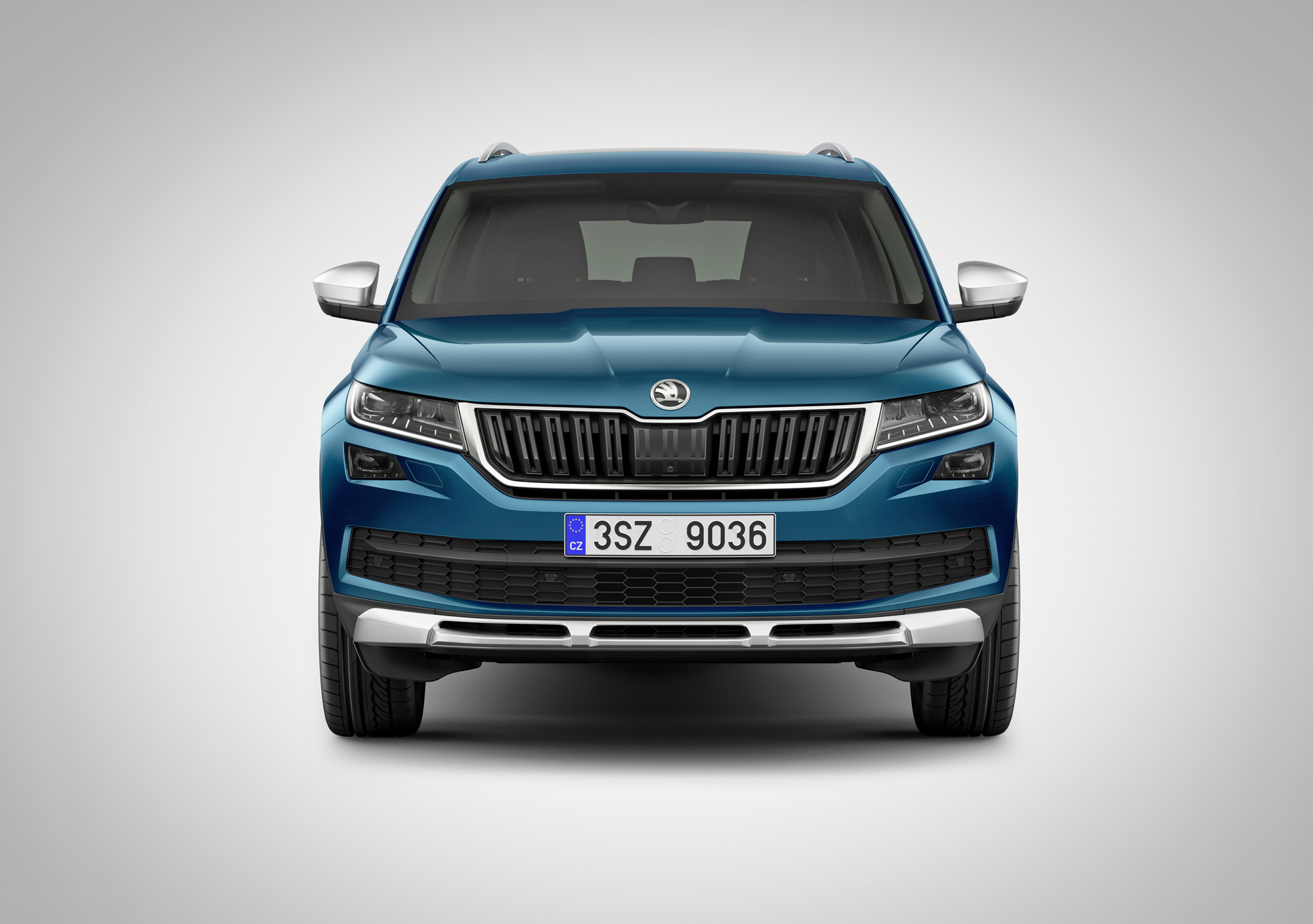 Skoda Kodiaq Scout Pictures