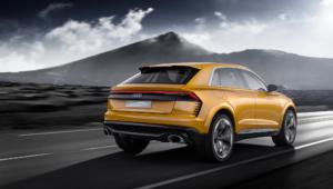 Audi Q8 Sport Photos