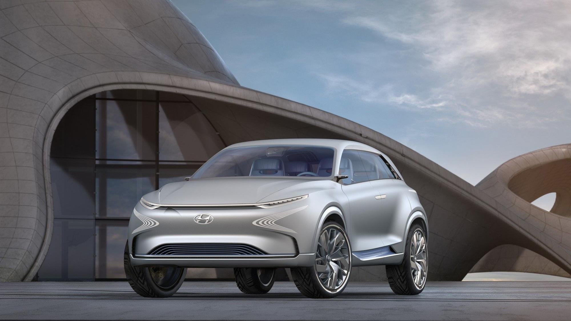 Hyundai FE Fuel Cell Widescreen