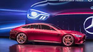 Mercedes AMG GT Concept 4K